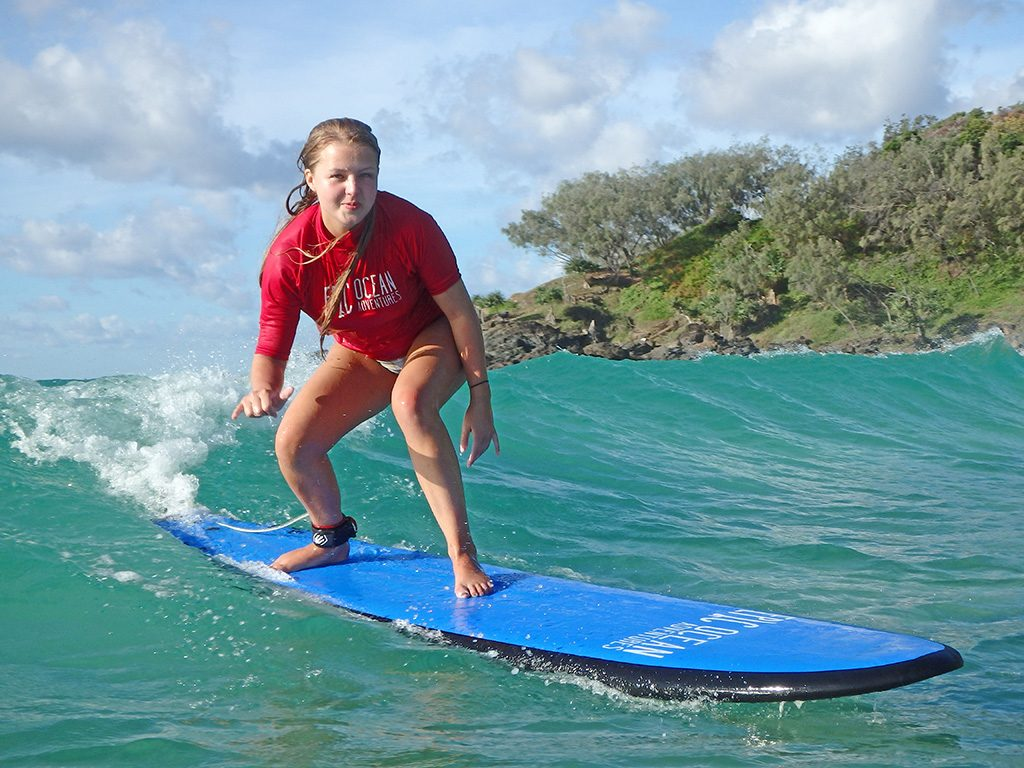 Learn to Surf Australias Longest Wave  Great Beach Drive Adventure - Noosa  day trip