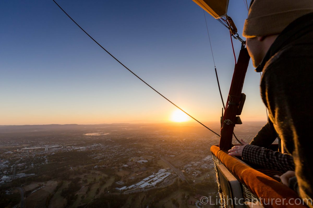 Greater Brisbane Scenic Hot Air Balloon Flight for 2