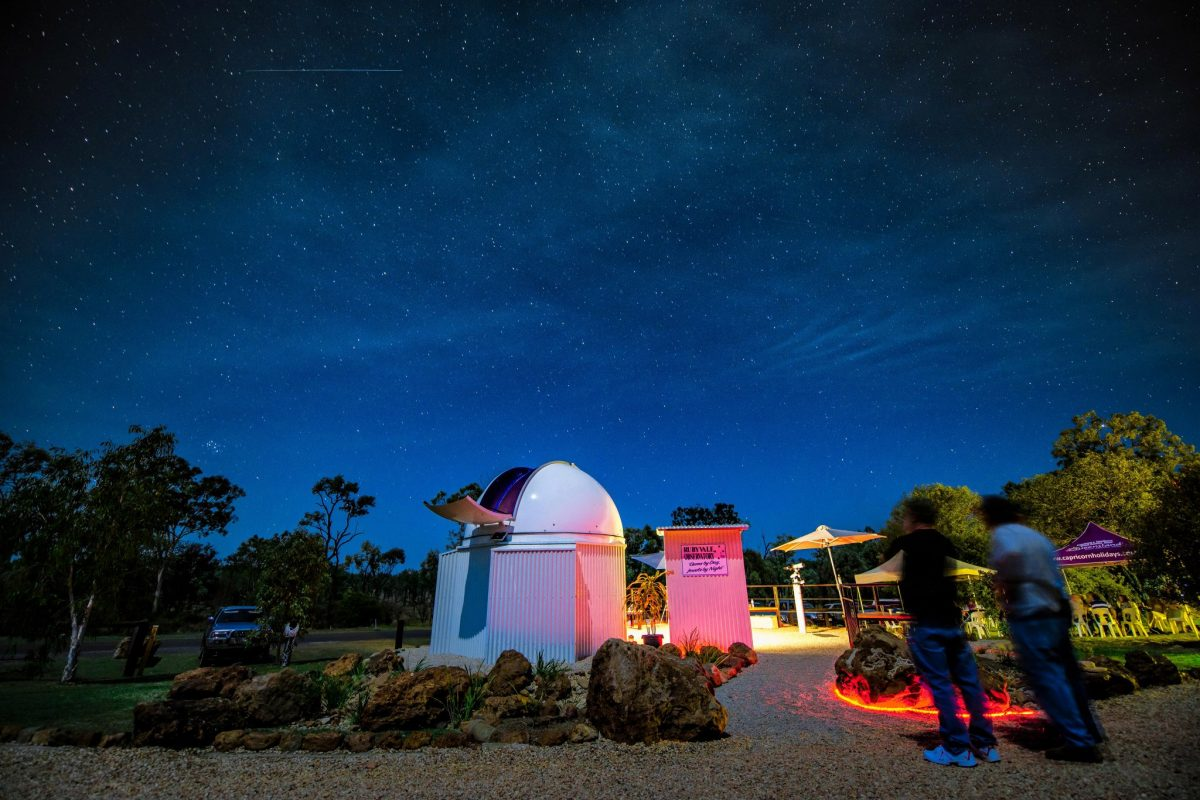 Gems By Day, Jewels By Night - Rubyvale Observatory