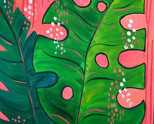 PAINT & SIP SOCIAL - Jungle Serenity - May 26, 700-930pm