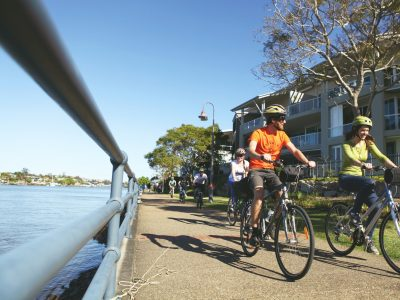 Brisbane By Bicycle Morning Tour