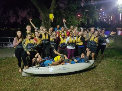 Brisbanes Night Kayak Tour