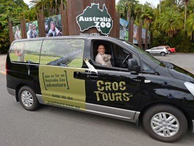 Croc Tours Transfer & Entry Adventure (NOOSA/SUNSHINE COAST)