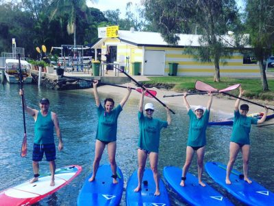 Stand Up Paddle Board - Group Lesson 9am