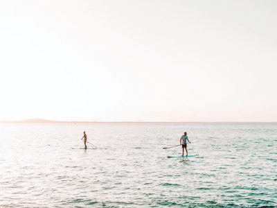 Stand Up Paddle Board - Private Lesson & Tour