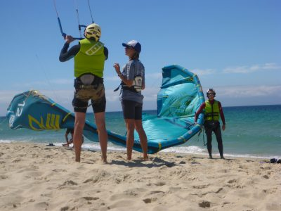 Kitesurfing Lesson 2.5 hour Beach Basics (lesson 1) - Rainbow Beach