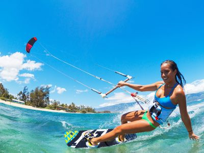Kitesurfing Lesson 2.5 hour Time to Ride (lesson 3) - Rainbow Beach