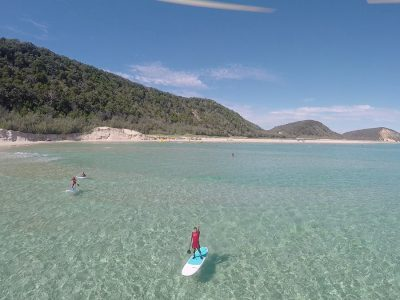 Stand Up Paddle Lesson Double Island Day Trip- Noosa