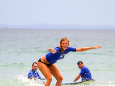 Learn to Surf Australias Longest Wave - Combo 2 X day trip departing Noosa