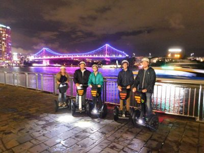 2 Hour 15 Minute Segway Brisbane Night Tour