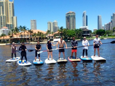 Stand Up Paddle Board GROUP Lesson - Gold Coast