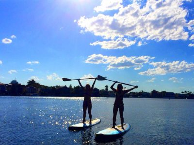 Stand Up Paddle Board Private Lesson (2 people) - Gold Coast