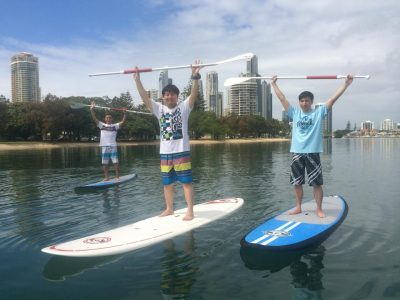 Stand Up Paddle Board Private Lesson (3 People) - Gold Coast