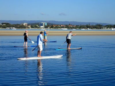 Stand Up Paddle Board Private Lesson (4 People) - Gold Coast
