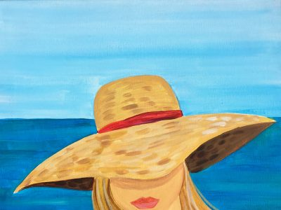 PAINT & SIP SOCIAL - Le Chapeau - June 23, 700-930pm