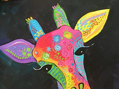 PAINT & SIP SOCIAL - Gerald Giraffe - June 2, 700-930pm
