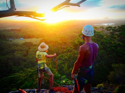 NOOSA SUNSET ABSEILING